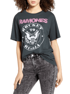 Ramones Rocket to Russia Graphic Tee