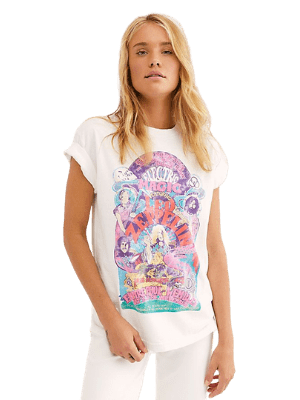 Electric Magic Oversized Tee