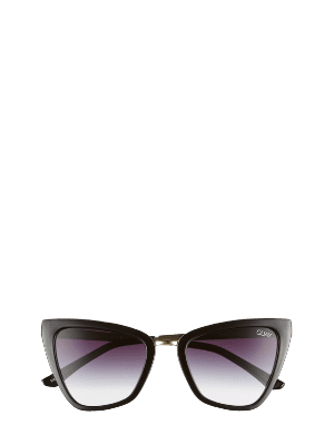 Quay Australia x JLO Reina 52mm Mini Cat Eye Sunglasses