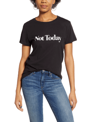 Not Today Loose Tee SUB_URBAN RIOT