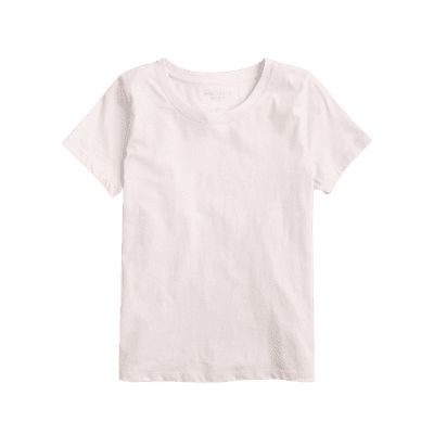 Jcrew Essential T-shirt nude pink