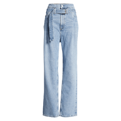 Agolde 90s Reworked High Waist Loose Fit Jeans