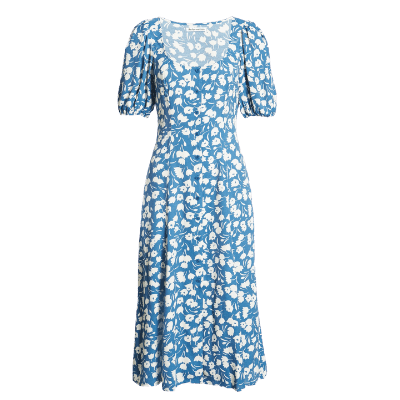Reformation Beechwood Floral Midi Dress