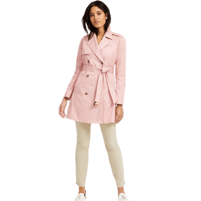 Charter Club Petite Classic Trench Coat
