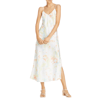 French Connection Sade Tie-Dyed Maxi Slip Dress